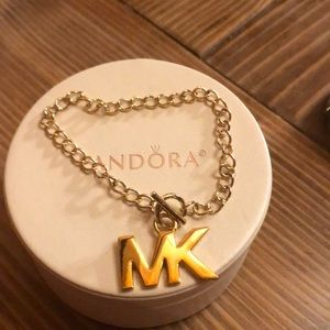 "Michael Kors ""MK"" Toggle bracelet"